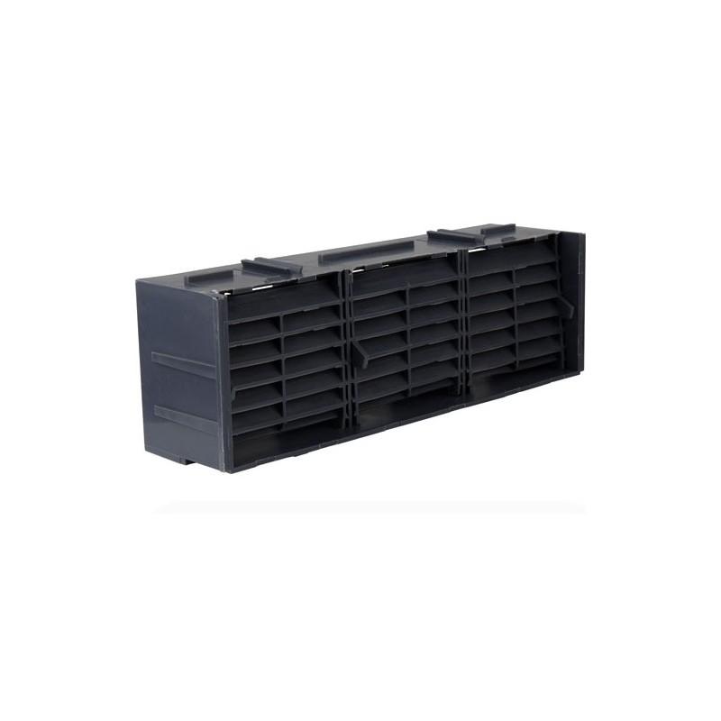 9 x 3 Grey Air Brick