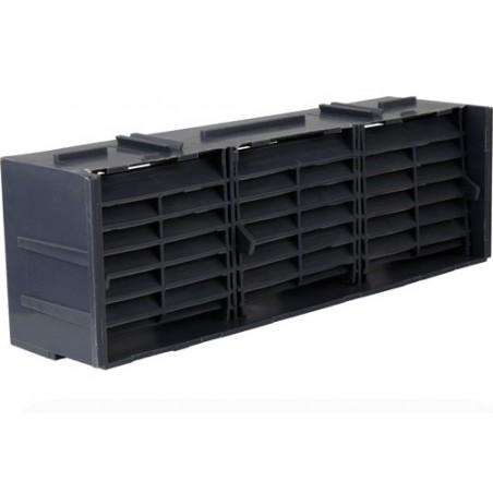 9 x 3 Anthracite Air Brick