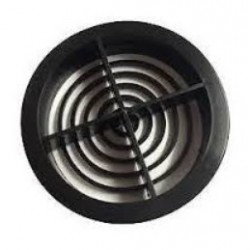 70mm Soffit Vent Black