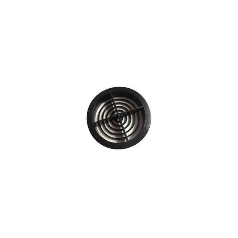 70mm Soffit Vent Black