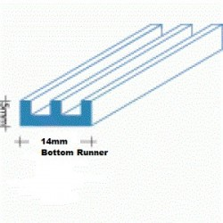 Glass Track Runners