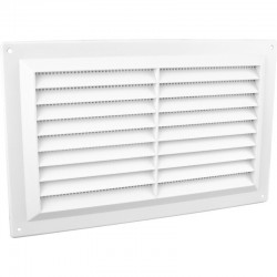 "Louvre Vent Flyscreen 6"" x 3"""